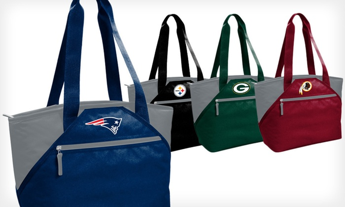 NFL Insulated Cooler Totes: $12.99 for an NFL Insulated Cooler Tote ($30 List Price). Eight Options Available.