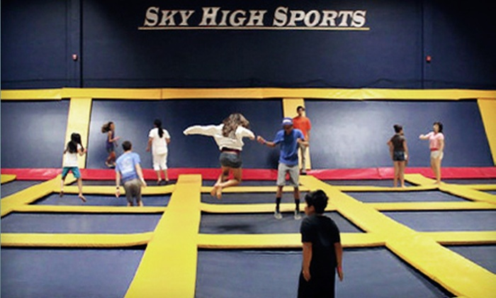 Sky High Sports - Camarillo: Laser Tag for 10, Trampoline Dodgeball for Up to 30, or Party Package for 10 at Sky High Sports (Up to 51% Off)