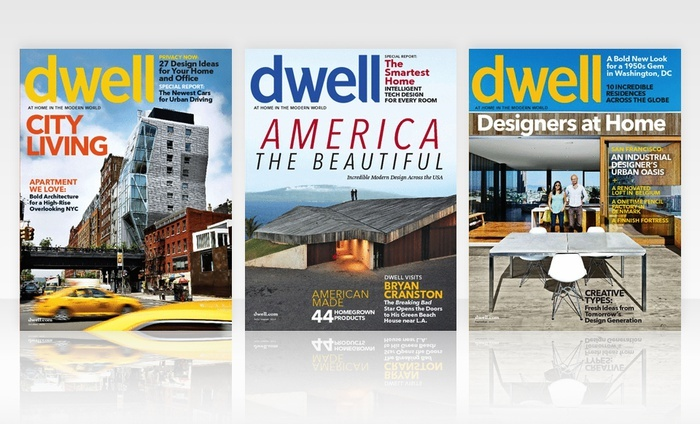 Dwell Magazine: 1- or 2-Year (10- or 20- Issues) Dwell Magazine Subscription
