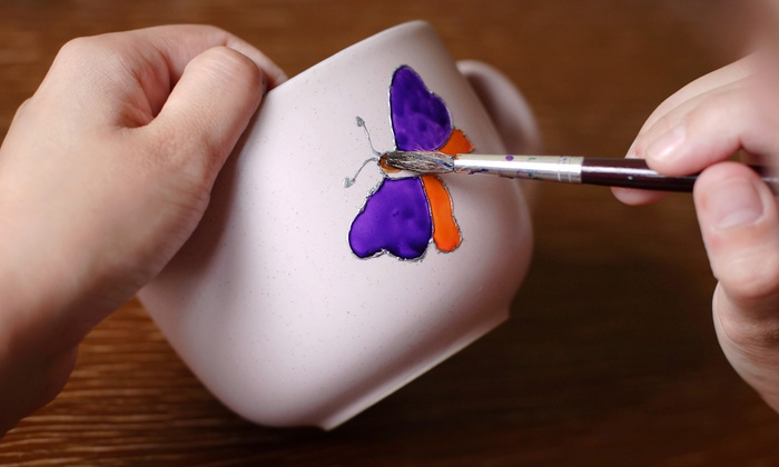 Paint N' Party - Plano: $11 for $20 Toward Pottery Painting or Throwing at Paint 'n Party Family Art Studio
