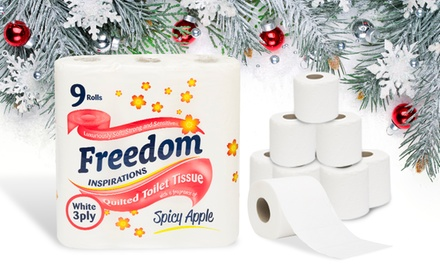 Freedom Toilet Paper Rolls, 3-Ply