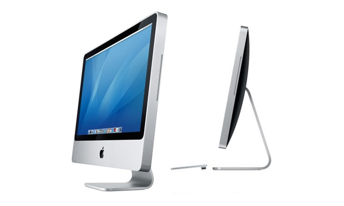 apple imac 24 reconditionn groupon. Black Bedroom Furniture Sets. Home Design Ideas