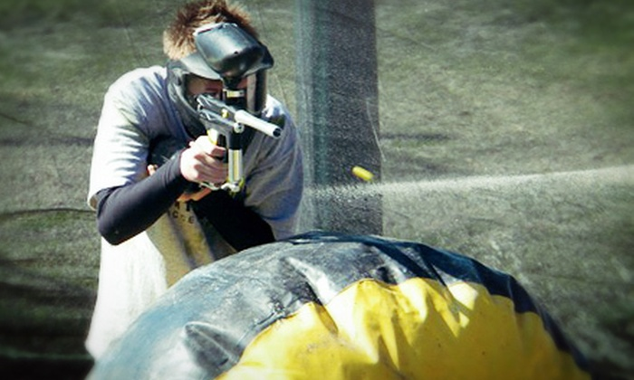 Clearwater Paintball - Clearwater: $25 for an All-Day Outing with Gun, 250 Paintballs, Gear, and Refreshments at Clearwater Paintball ($50 Value)