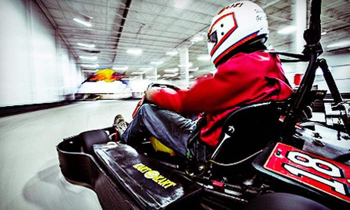 Kart 2 Kart - Sterling Heights: $29 for Three Go-Kart Races and One Fountain Drink at Kart 2 Kart (Up to $60 Value)