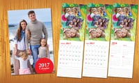 2017 Personalised Calendar With Up to 13 Photos from AED 9 (Up to 82% Off)