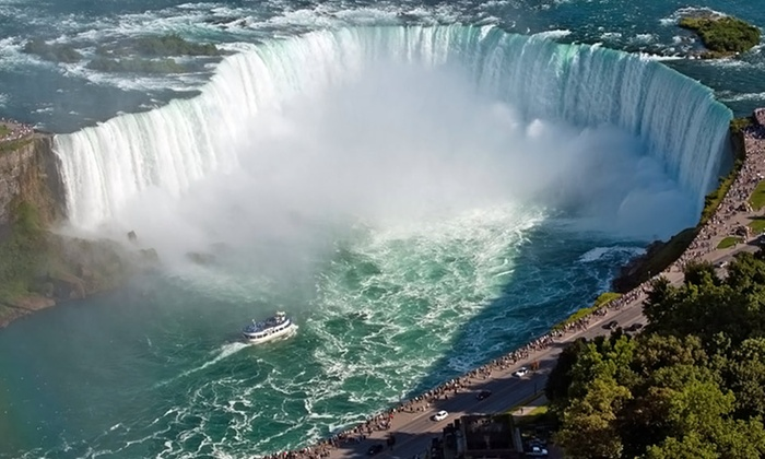Wyndham Garden Niagara Falls Hotel with Wine Tastings - Philadelphia: Stay with Drinks, Wine Tastings, and Dining Credit at Wyndham Garden Niagara Falls Fallsview in Ontario