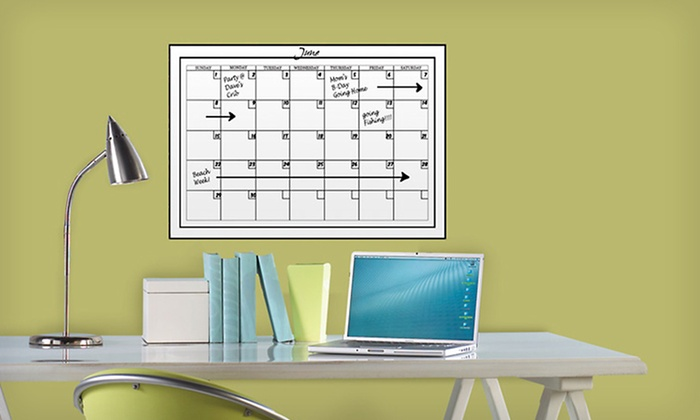 WallPops Dry-Erase Boards: WallPops Dry-Erase Calendars, Boards, or Maps (Up to 55% Off). Nine Options Available. Free Returns.