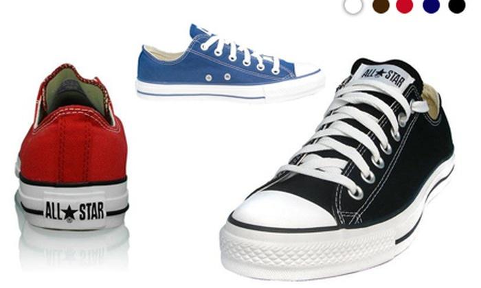 Converse basses mixtes | Groupon Shopping