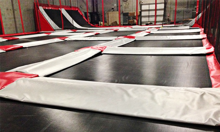 Rogue Air Park - Medford: 60-Minute Trampoline Park Passes for Two or Four, or Private Party for up to 10 at Rogue Air Park (Up to 50% Off)