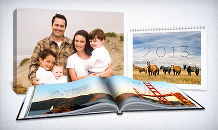 Picaboo: Classic Photo Books, Calendars, Collage Posters, and Canvas Prints from Picaboo (61% Off). Two Options Available.