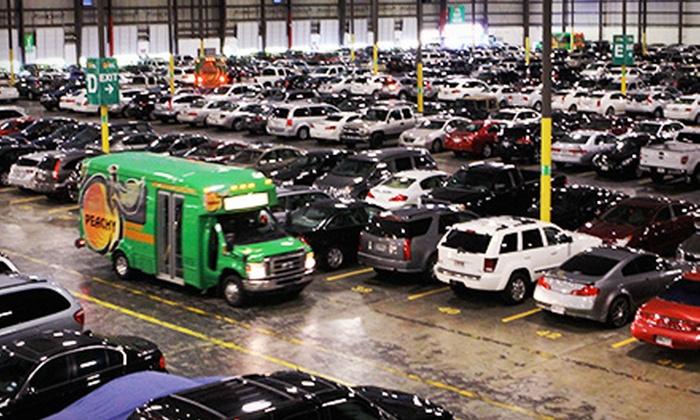 Peachy Airport Parking - Atlanta: 2, 4, 6, or 10 Consecutive Days of Indoor Parking at Peachy Airport Parking (Up to 35% Off)