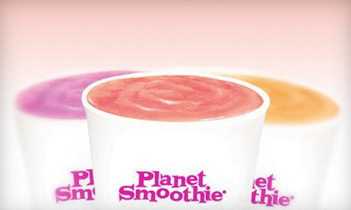 Planet Smoothie - Rosemont: Smoothies at Planet Smoothie (Up to 53% Off). Two Options Available.