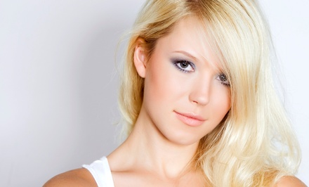 Moisturizing Treatment & Blowout or Cut & Choice of Root Touch-Up or Color at Avanti Hair Salon (Up to 67% Off)