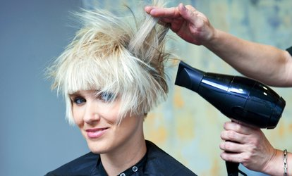 image for Cut, Blow-Dry and Moroccan Oil Treatment (£15) With Colour (from £24) at La Beaute Hair and Beauty