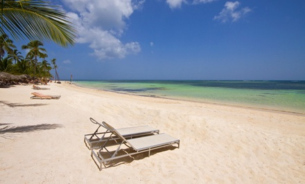 groupon daily deal - All-Inclusive Stay at Catalonia Royal Bavaro in the Dominican Republic. Dates into June. Includes Taxes and Fees.