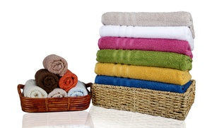 12-piece Oversized Zero-twist Cotton Towel Set