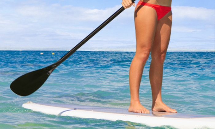 Paddleboard Addict - Cliffcrest: Beginner Stand-Up Paddleboard Lessons for One, Two, or Four at Paddleboard Addict (Up to 83% Off)