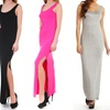 Women's Side-Slit Tank Maxi Dress