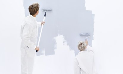 image for Two or Four Hours of Interior Painting by Two Painters from Honey Do Painters (Up to 57% Off)