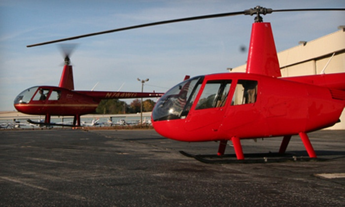 Prestige Helicopters, Inc. - Atlanta: Helicopter Tour for Two or Three from Prestige Helicopters, Inc. (Up to 53% Off). Two Options Available.