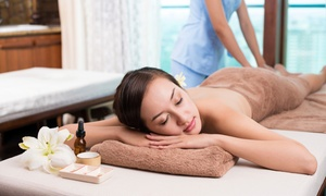 Lukap Divine Day Spa: Thai Massage with Luxury Manicure or Sugar Scrub Pedicure from R179 for One at Lukap Divine Day Spa (Up to 70% Off)