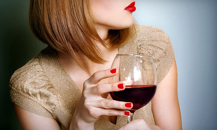 My Angel Nails - Pleasant Hill: One or Three Traditional or Shellac Manicures and Traditional Pedicures with Wine at My Angel Nails (Up to 61% Off)