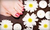 Brows 2 Lashes - Fairview: Spa or Shellac Manicures and Pedicures at Brows 2 Lashes (Up to 54% Off). Three Options Available.