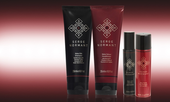 Serge Normant: $19 for a Serge Normant Meta Shampoo, Conditioner, Volumizer, or Dry Shampoo ($26 List Price). Free Shipping.