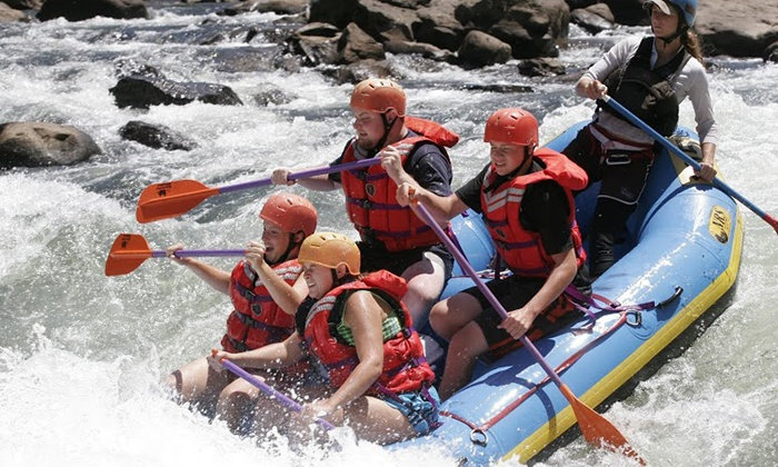 USA Raft - Oak Hill: Two-Night Rafting and Camping Trip with Optional Zipline Experience from USA Raft (Up to 49% Off)