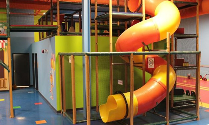 Monkey Around Play & Learn Centre - Blossom Park: Five Open-Play Visits or One Month of Daycare Services at Monkey Around Play & Learn Centre (Up to 52% Off)