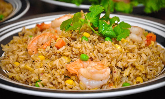 Din Din - Historic Midtown: Pan-Asian Food for Lunch at Din Din (Up to 52% Off). Two Options Available.