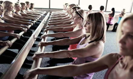 5 or 10 Barre Fitness Classes at Pure Barre Technique (Up to 56% Off)