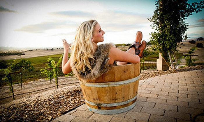 Vino + Therapy Studio - Atascadero: Spa Package with Foot Treatment, Facial or Massage, and Wine for One or Two at Vino + Therapy Studio (Up to 59% Off)