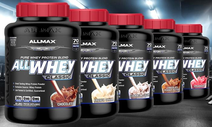 Výsledek obrázku pro Allmax AllWhey Classic Protein 2250g