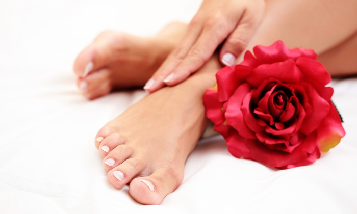 Deluxe Nail Salon - Mechanicsburg: One or Two Mani-Pedis at Deluxe Nail Salon (Up to 63% Off)