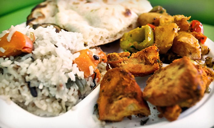 Lotus Indian Express - North San Jose: Indian Cuisine at Lotus Indian Express (Up to Half Off). Two Options Available.