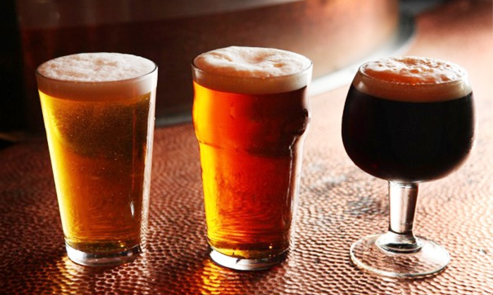 Brewzzi - Boca Raton: Quality Comfort Food and Brewed-on-Site Beer at Brewzzi (Up to 46% Off). Two Options Available.