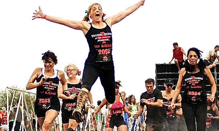 Gladiator Rock'n Run - Beaumont, TX: $40 for a 6K Obstacle Race from Gladiator Rock'n Run (Up to $85 Value)