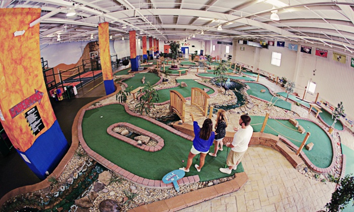 Chesterfield Sports Fusion - Chesterfield: $20 for Indoor Mini Golf for Four & $16 Video Arcade Credit at Chesterfield Sports Fusion ($40 Value)