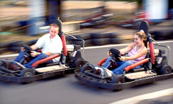 Hot Wheels Amusement Park - Rocky Mount: $10 Worth of Go-Karts and Arcade Games