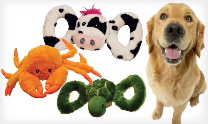 Jolly Pets Tug-a-Mal Dog Toys: Jolly Pets Tug-a-Mal Small, Medium, Large, or Extra-Large Dog Toy (Up to 77% Off). Nine Designs Available.