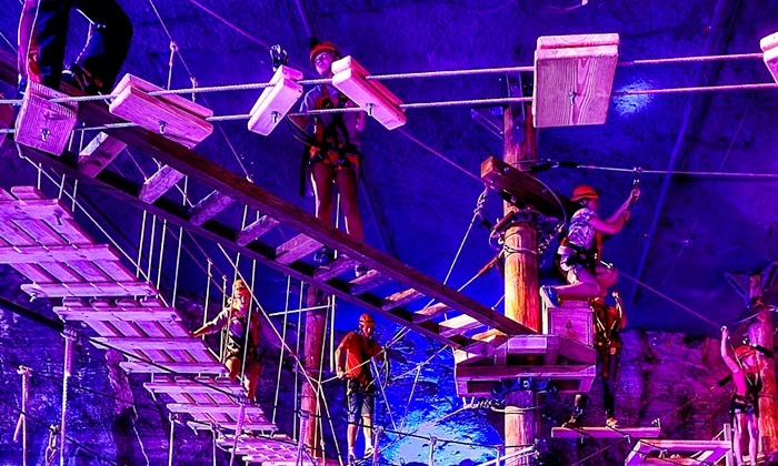 Louisville Mega Cavern - Poplar Level: Admission for Two, Four, or Six to Mega Quest at Louisville Mega Cavern (Up to 53% Off)