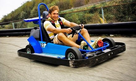 Go-Karting and Mini Golf for Two, or Four at Statler's Fun Center (Up to 45% Off)