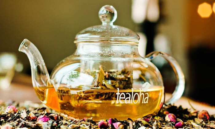 Tealoha - Greenville: Tea Tasting for Two or Four at Tealoha (Up to 53% Off)