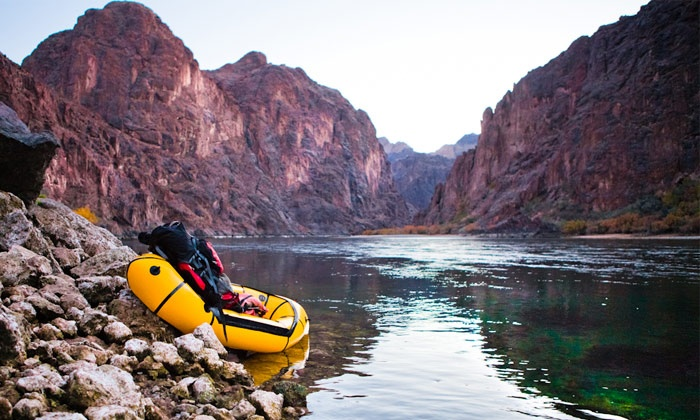 Epic Adventures Photography - Las Vegas: Canyon Paddle, Hike, and Hot Springs Photo Shoot for One or Two from Epic Adventures Photography (Up to 75% Off)