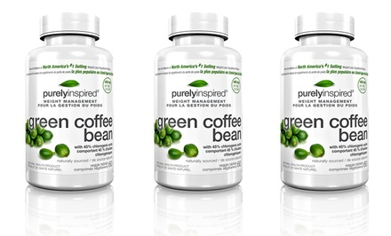60 Purely Inspired Green Coffee Bean Weight-Management Tablets. 1, 2, or 3 Bottles from $9.99–$19.99.