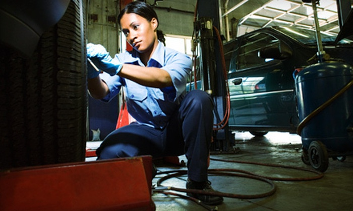 Discount Auto - Spokane: One or Three Oil Changes with 25-Point Inspection and Tire Rotation at Discount Auto (Up to 58% Off)