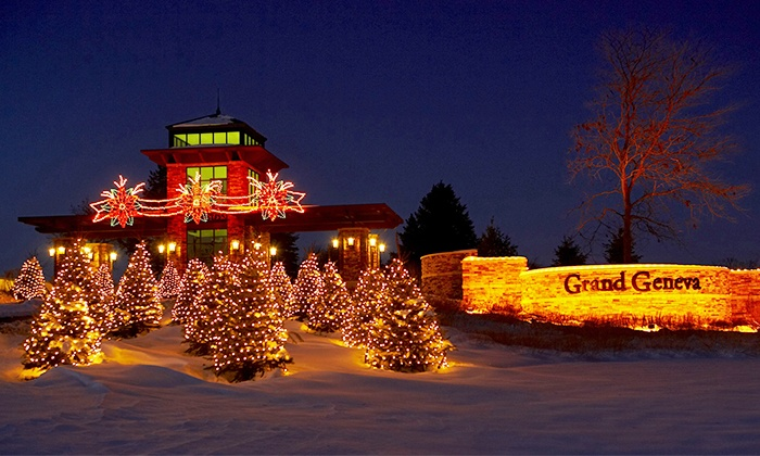 """A Christmas Portrait"" - Lake Geneva: ""A Christmas Portrait"" for Two, Four, or Six at Grand Geneva Resort & Spa on November 29–December 29  (Up to 53% Off)"