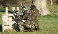 Paintball: With 100 Balls from £5 with Battlelands Paintball
