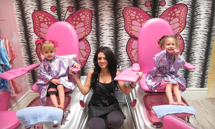 Little Rockstar Children's Salon - Sherman Oaks: One or Three Children's Haircuts at Little Rockstar Children's Salon (Up to 52%Off)